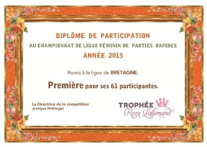 Diplôme Bretagne TRL 2015