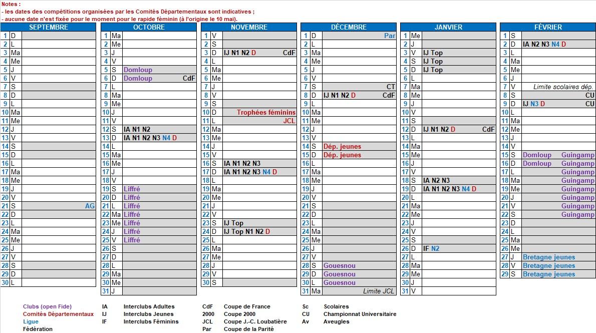 Calendrier 202016 A Imprimer.Ligue 1 Calendrier 2020